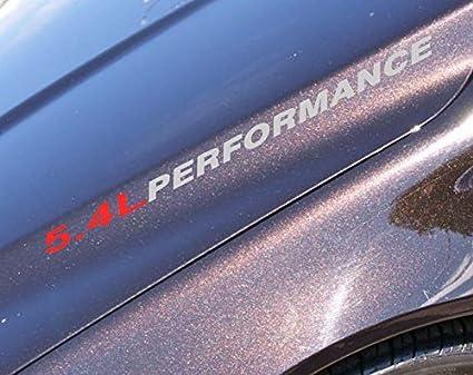 Amazon Com 5 4l Performance Decals Sticker Compatible Wirh Ford