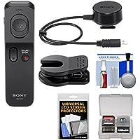 Sony RMT-VP1K Wireless Remote Shutter Controller Kit for Handycam CX290, CX330, CX900, PJ540, PJ650V, PJ790V, PJ810, AX100, AX33, Alpha A3000, A7 Mark II, SLT-A77 II, Cyber-shot RX10. RX100 II III