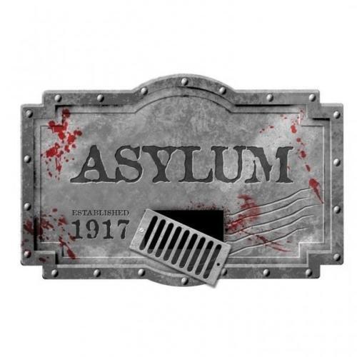Amscan Sinister Surgery Asylum Foam Sign (Asylum Foam Sign)