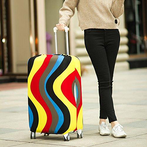 yazi Washable Suitcase Protector Colorful
