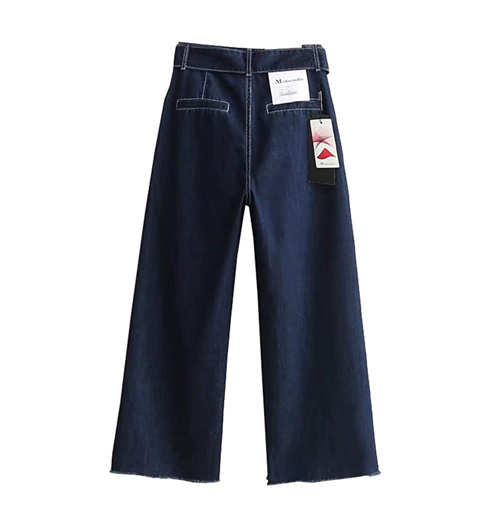 DaBag Donna Largo Gamba Casuale Larghi Denim Jeans A In