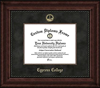 Amazon.com : Cypress College Chargers - Embossed Seal - Suede Mat ...