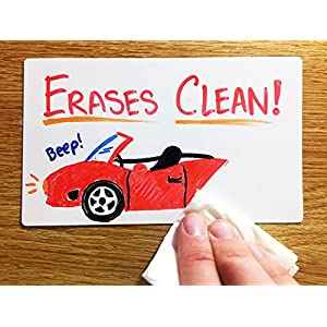 Dry Erase Index Cards - 48 Reusable Flash Cards