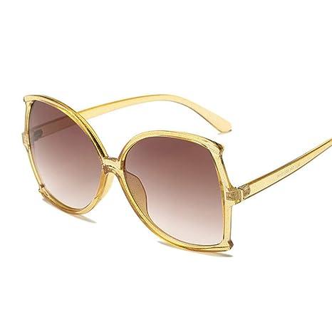 Yangjing-hl Gafas de Sol cuadradas de Gran tamaño de Moda de ...
