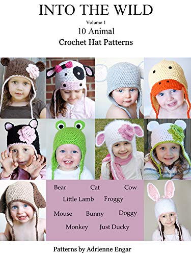Into the Wild Volume 1: 10 Animal Crochet Hat Patterns -