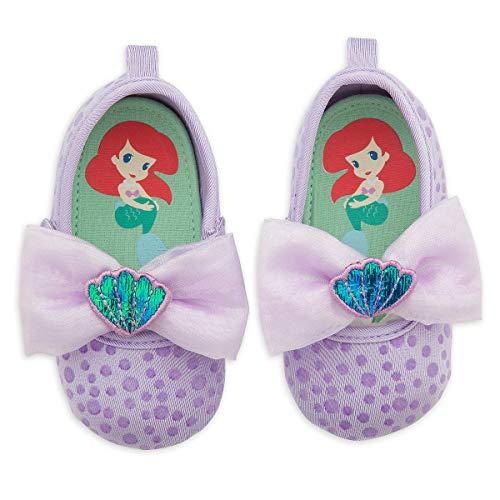 Disney Store Little Mermaid Ariel Baby Costume Shoes Dress Up (18-24M) Purple