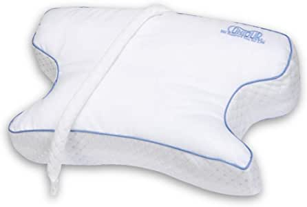 Contour Products, CPAPMax 2.0 Pillow for Sleeping with CPAP Machine, Works for Side, Back and Stomach Sleepers, alleviates Leaking, Reduces Noise, no Odors