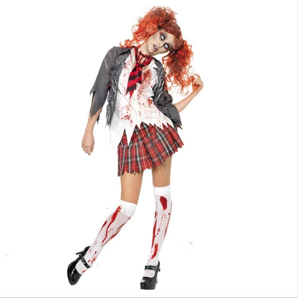 Disfraces de niñas de Halloween Zombies de Secundaria, Faldas de ...