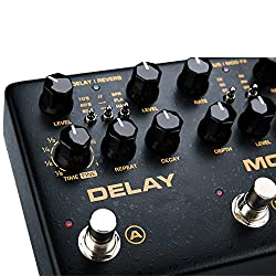 NUX Cerberus Multi-function Guitar Effect Pedal Inside Routing IR Loader Analog Overdrive Distortion Digital Delay Modulation Effects from Cherub Technology Co,.Ltd