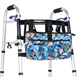 Walker Bag by OasisSpace - Water Resistant Pouch, Accessory for Senior Walker (Blue)