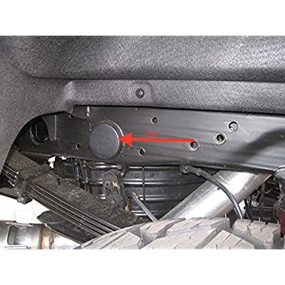 Prescott Plastics 6 Piece: Plug Kit for 2500HD Rear Wheel Well and Cab Frame Holes - Fits 2001-2020 GMC Sierra & Chevrolet Chevy Silverado - 2500 Truck Accessories: Automotive