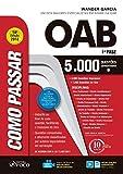 capa de Como Passar na OAB 1ª Fase. 5.000 Questões Comentadas