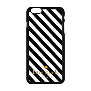 Kate spade New York Luxury brands Print Black/White Case With Hard phone case Cover for for iPhone 6 Case (4.7inch)¡ê?Kate spade Fashion Popular Classic style 2