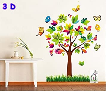 61c840348ab Buy Syga 3d wall stickers MJ9007 Online at Low Prices in India - Amazon.in