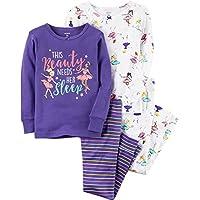 Girls' 4 Piece Ballerina PJ Set