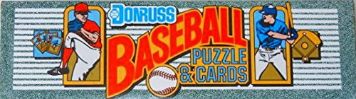 - 1990 Donruss Complete Set (MLB - Baseball - 728 Cards + Puzzle) (Factory Sealed)