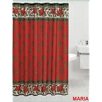 Low Cost Auburn Tigers Printed Shower Curtain Cover