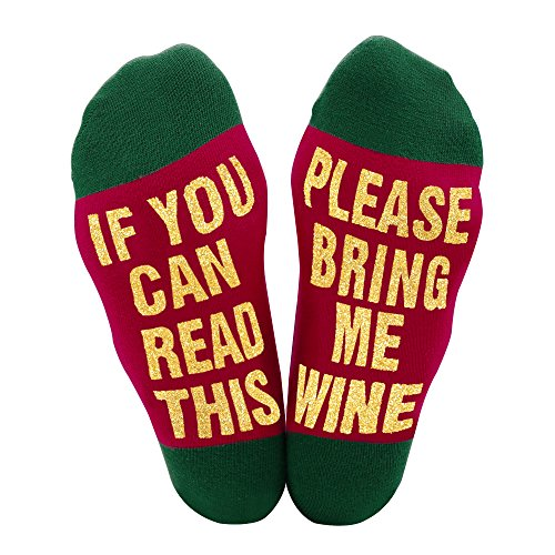 Best Gift Christmas socks Christmas Gift for Lover,friends, Mom and Father IF You Can Read This Funny causal cotton Xmas Socks