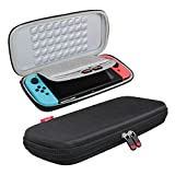 Hard EVA Travel Case for Nintendo Switch by Hermitshell(Black)