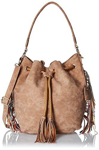 Diana Korr Women's Sling Bag (Light Brown) (DK75HBEI)