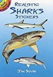 Realistic Sharks Stickers (Dover Little Activity Books Stickers)
