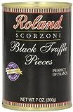 Roland Foods Black Truffle Pieces, 7 Ounce