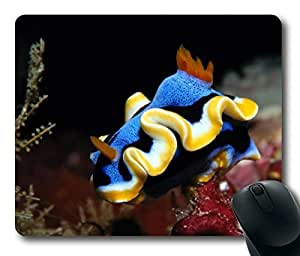 Under Ocean Beautiful Fish Oblong Mouse Pad by Cases & Mousepads by icecream design