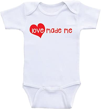Personalised First Valentines Day Baby Vest Babygrow One Piece Baby Gifts