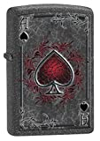 Zippo Lighter: Ace of Spades - Iron Stone