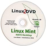 Linux Mint 18, MATE Desktop, Special Edition, 32 & 64 Bit, DVD