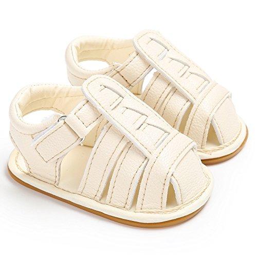Sandalias De Bebe,BOBORA Prewalker Zapatos Nuevas Ssandalias De Verano Antideslizante Zapatillas A8