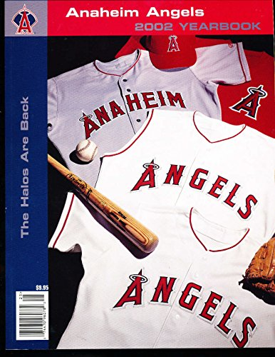 2002 Anaheim Angels Baseball Yearbook nm