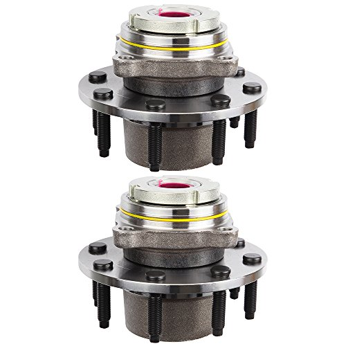 Scitoo Front Wheel Hub Bearing Assembly 8 Lugs for 99 Ford Compatible with 515076 2 pcs by Scitoo