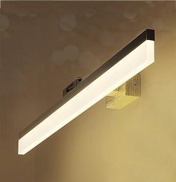 KYDJ Spiegel Lampen LED-Spiegel vorne Licht, Spiegelschrank Lampe ...