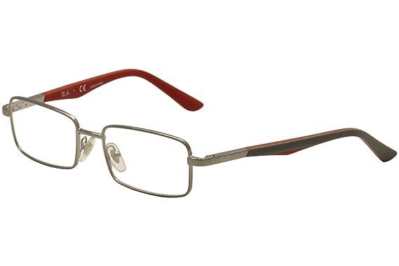 d43daa2ec6e67 RAY BAN Monture lunettes de vue RY 1033 4008 Gunmetal 52MM  Amazon ...