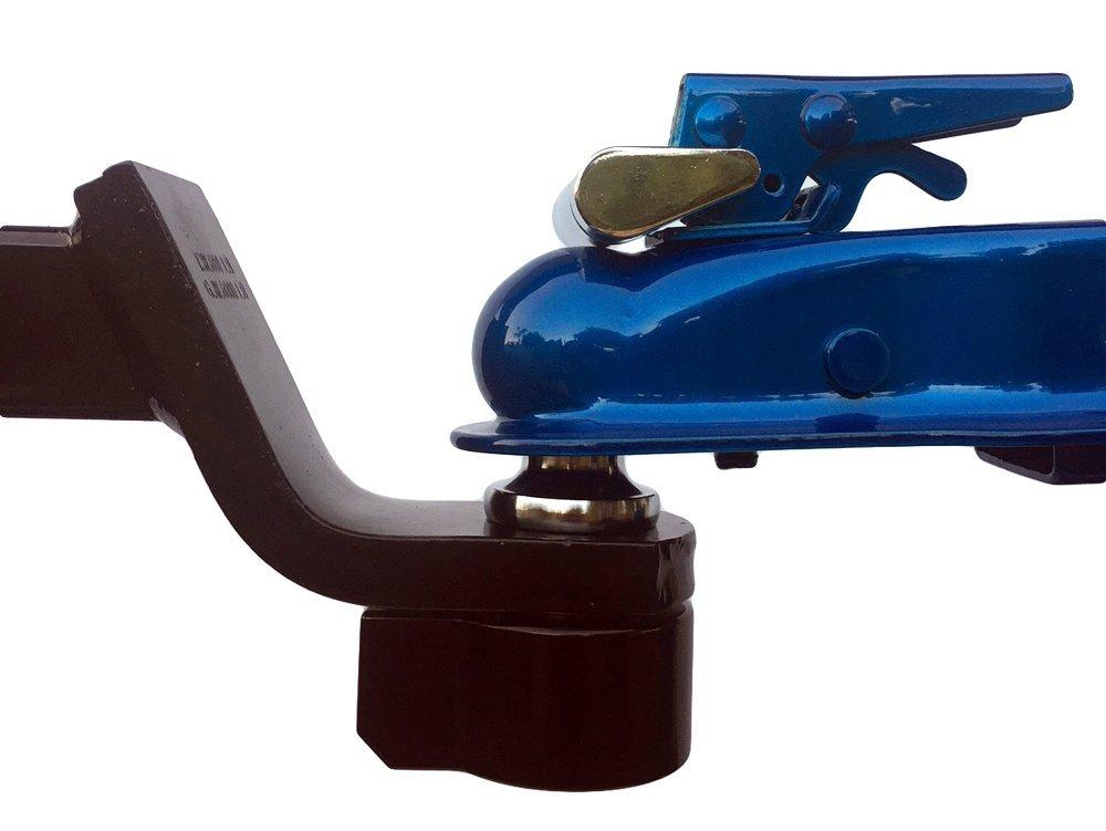 Nut Replacement//Lock for Trailer Ball Prevent Trailer Theft RJ Lock 4350431708 Black