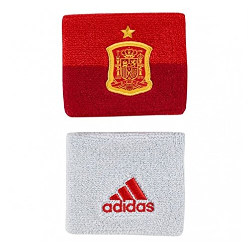 adidas 2018-2019 Spain Wristbands (Red) Adidas Red Wristband