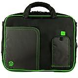 Lime Green VG Pindar Edition Durable Messenger Shoulder Bag Case for Asus K52DR / N50Vc / N50Vn / N55SF / A55VD / A53U / A54C / A55A / U53Jc / P53SJ / P53E / B53E / B53F / B53J / B53S / G55VW / G51J 3D / G51Jx 3D / G51VX / G53Jw / G53SW / G53SX / N53Jf / N53Jq / N53SN / N53SV / N56VM / N56VZ / UL50Vt / N51Vf / K50AD / K50AF / K50IJ / K52F / K52JB / K52Jr / A52F / A52JC / K53E / K53SV / B53F / B53S / P53E 15.6 inch Laptop