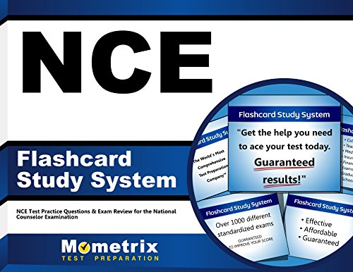 Pdf Test Preparation NCE Flashcard Study System: NCE Test Practice Questions & Exam Review for the National Counselor Examination (Cards)