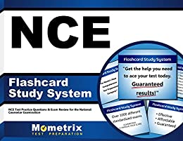 NCE Flashcard Study System: NCE Test Practice Questions & Exam Review for  the National Counselor Examination