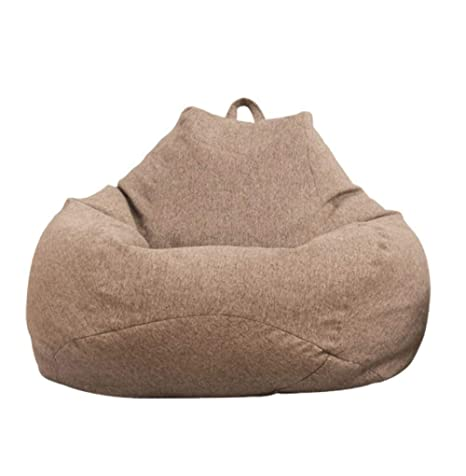 ADSFOOO Bean Bag Chair Bean Bag Chair Adultos Perezoso Sofá ...