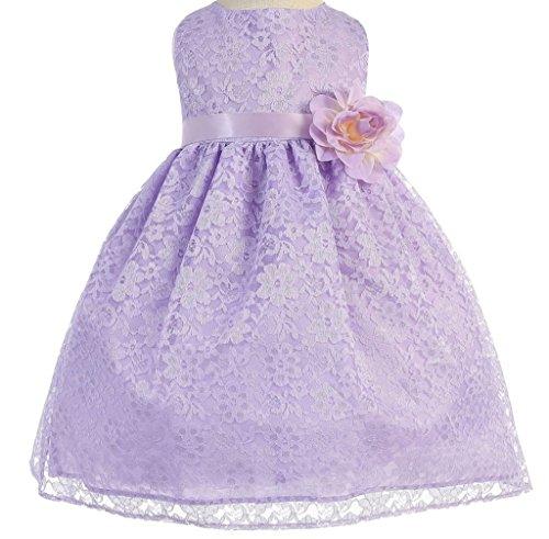 lilac baby dress - 8