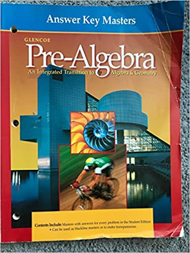 Answer Key Masters (Glencoe Pre-Algebra) (Glencoe Pre-Algebra