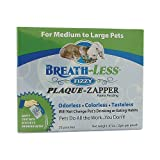Ark Naturals Breath-Less Plaque Zapper Fizzy for Medium to Large Pets, 100mg, 30 Packets