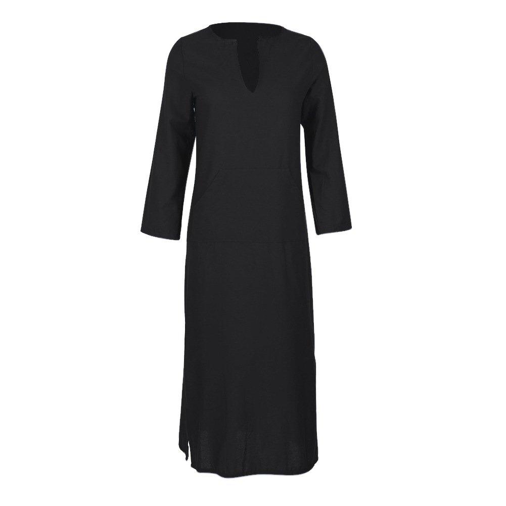 dd1f258a8e EFINNY Women Plus Size Shirt Dress