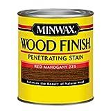 Minwax 22250 1/2 Pint Wood Finish Interior Wood Stain, Red Mahogany by Minwax