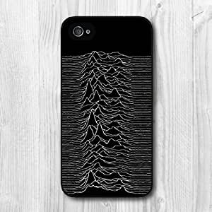 New Fashion Design Joy Division Music Band Pattern Protective Hard Phone Cover Skin Case For iPhone 4 4s +Screen Protector
