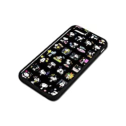 iPhone 6 6S Case,Snoopy [PC+ TPU] Case iPhone 6 6S 4.7-Inch Anti-Scratch Shock-Absorbing Bumper Back Panel Protective Cover