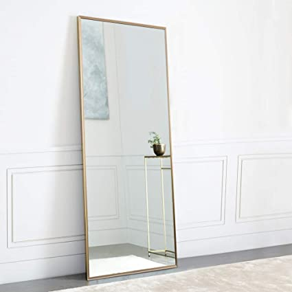 Neutype Full Length Mirror Standing Hanging Or Leaning Against Wall Large Rectangle Bedroom Mirror Floor Mirror Dressing Mirror Wall Mounted Mirror