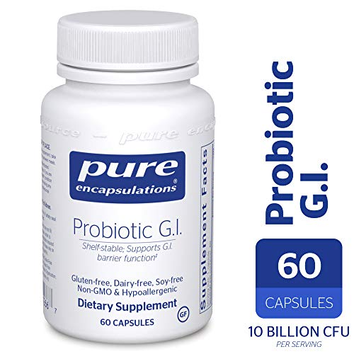 Probiotic Blend - Pure Encapsulations - Probiotic G.I. - Shelf Stable Probiotic Blend to Support Healthy Immune Function Within The Gastro Intestinal Tract* - 60 Capsules